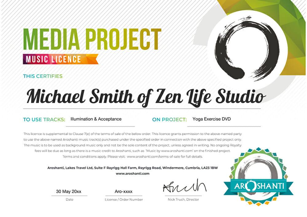 Media Music Licence